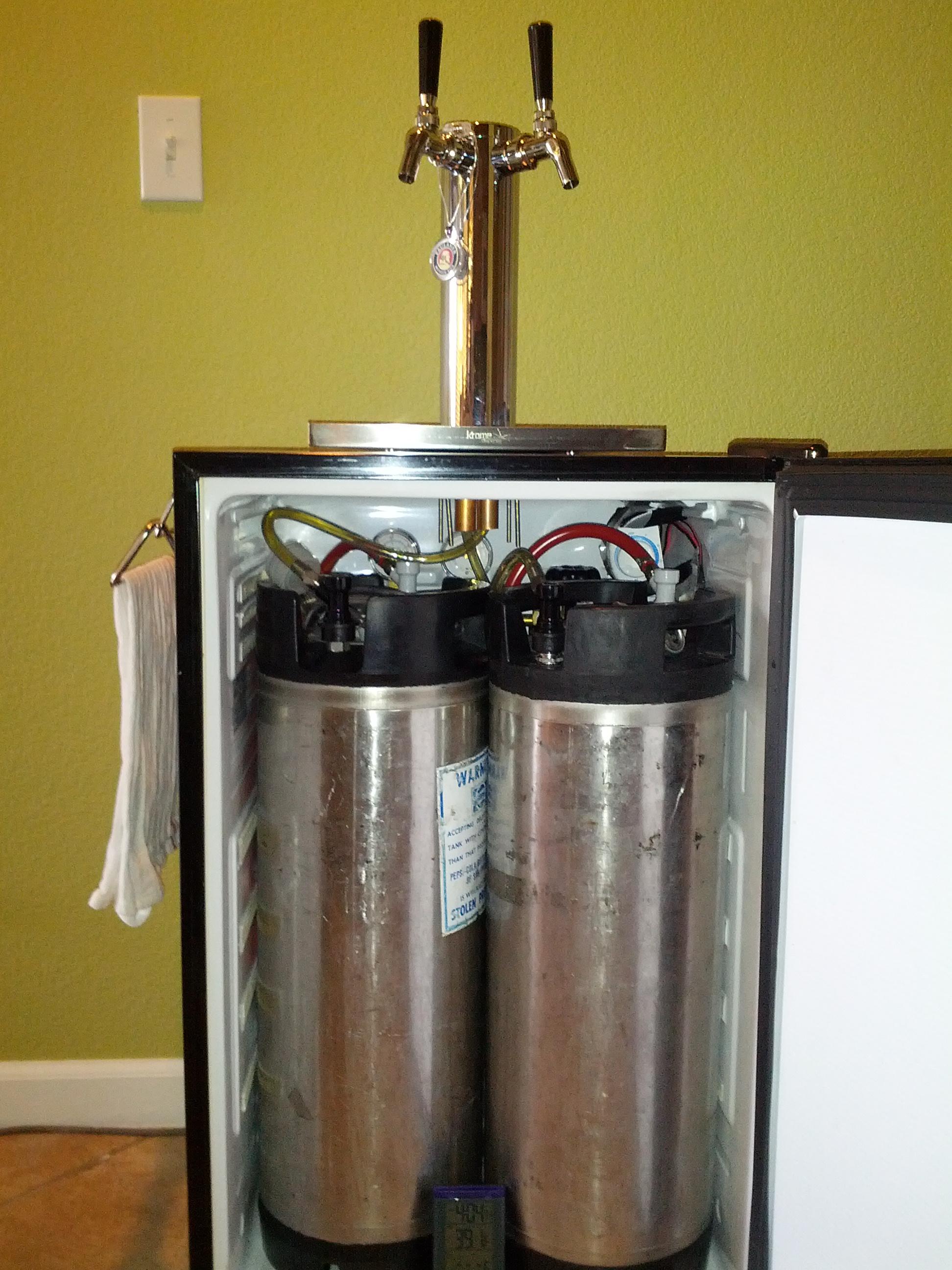 Homemade kegerator tower homemade ftempo for Homemade tower